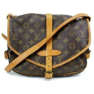 Louis Vuitton Saumur 30 Brown Crossbody #5373L20